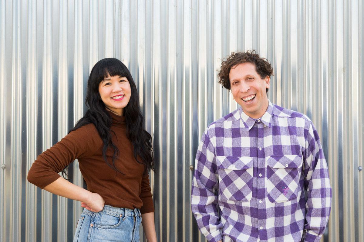 Sex with Cancer co-founders Joon Lynn Goh & Brian Lobel. Photo by Christa Holka