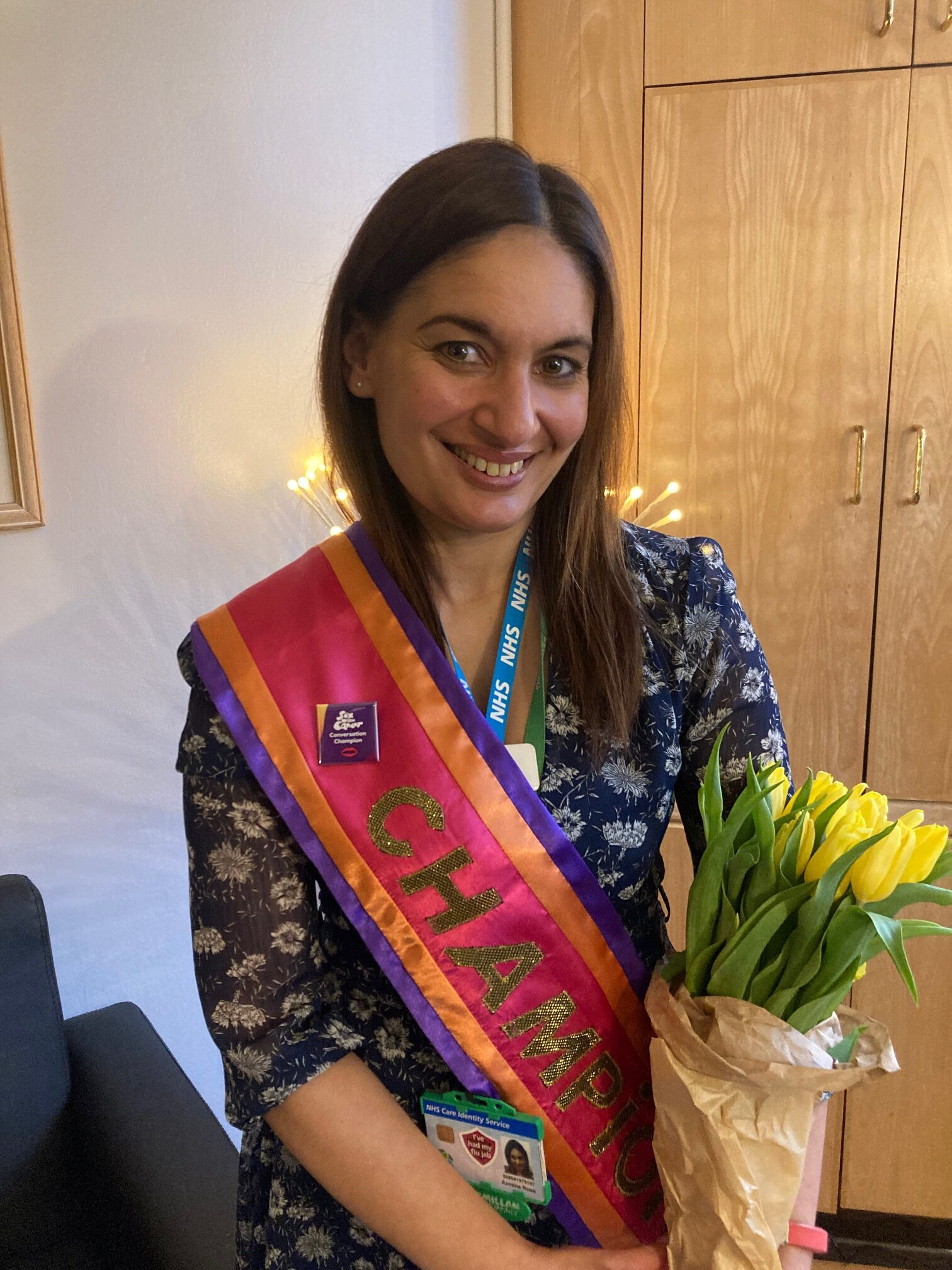 Azmina Rose, Sex with Cancer Conversation Champion 2021